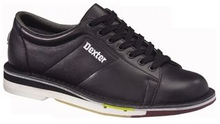 Dexter Mens SST 1 Bowling Shoes Black Leather RH Right Hand Size 6