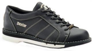 New Dexter Mens SST 5 LX Bowling Shoes Black Leather RH Right Hand