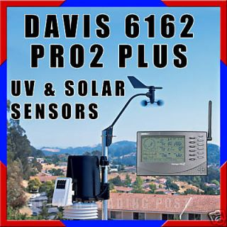 Davis Wireless Vantage Pro 2 Plus Weather Station 6162