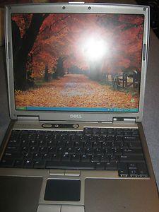 DELL LATITUDE D610 WINDOWS XP PRO PENTIUM M 1 73GHz 1GB 40GB DVD CDRW
