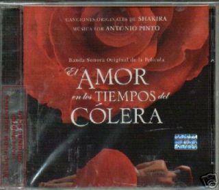 Shakira El Amor En Los Tiempos Del Colera CD New