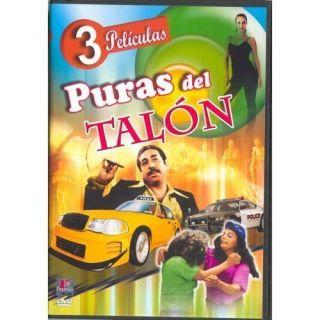 Puras Del Talon DVD New 3 PK La Golfa Del Barrio Las Taxistas Del Amor