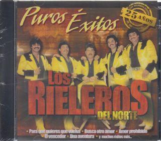 Los Rieleros Del Norte CD New 12 Exitos de Coleccion 681010290027