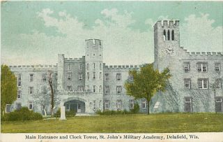 Wi Delafield St Johns Military Academy Entrance T54165