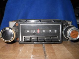 ANTIQUE DELCO AM CAR RADIO