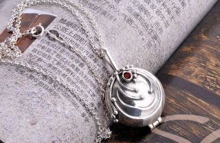Crystal Necklace Vampire Diaries Elena Vervain Pendant Necklace