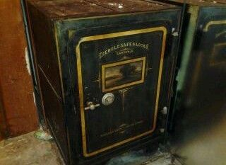 Diebold Safe Antique 1871