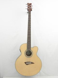 Dean EABC5 5 String Acoustic Bass Guitar Blem C17