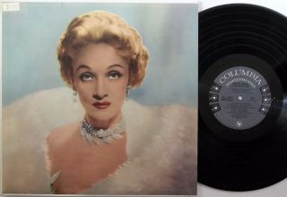 MARLENE DIETRICH At Cafe De Paris COLUMBIA LP dg 6 eye female vocal