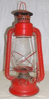 Vintage Dietz Railroad Lantern Special Kmart Edition Red with Clear