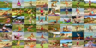 60 Denise Austin Fit and Lite Daily Workout Episodes DVD Lifetime