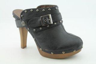 De Blossom Collection Covina 2 Womens Sz 9 Black Shoes