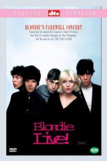 Blondie Farewell Concert DVD Live Debbie Harry Deborah