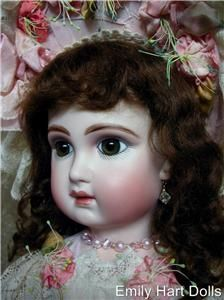 Intrepide BEBE Antique Reproduction Porcelain Doll Head Only by