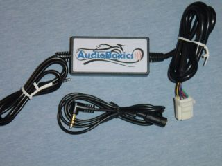 Digital iPod iPhone Aux 3 5mm Audio Input Adapter to select Toyota