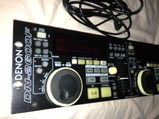 Denon DN 2600F CD Player Controller Remote control Cable DJ Equipment