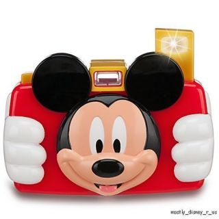 Talking Mickey Mouse Club House Toy Digital Camera Realistic Flash