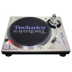 Technics SL1200 MK5 Direct Drive Turntable – Silver
