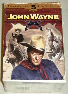 JOHN WAYNE COLLECTOR SERIES 5 PACK VHS MOVIES   Riders Of Destiny, Man