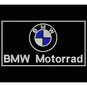 PARCHE Bordado Logo BMW Motorrad 10 x 5 cm Fabricado España Maxima