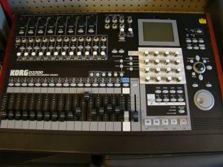 Korg D3200 Mixerm Digital Recording Studio