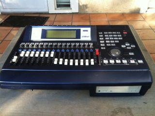 Korg D1600 MKII Digital Recording Studio Mixer Excellent Condition