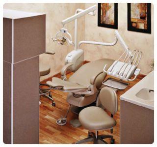 Dental Equipment Marus Euro Chair Pkg w Cuspidor 5yr W