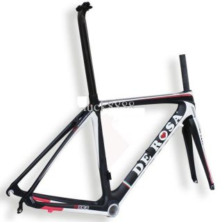 New Italian DeRosa R838 Carbon Fibre Road Bike Frame
