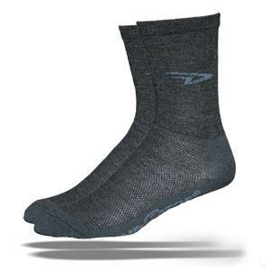 DeFeet Merino Wool Wooleator Hi Top Socks Charcoal All Sizes