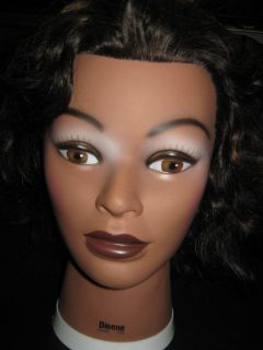 Dionne Cosmetology Mannequin Head 100 Human Hair by Burmax