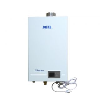 Aquah Premium Direct Vent Natural Gas Tankless Water Heater 14L 3 7