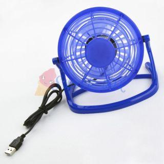 Portable Fashionable Super Mute Quiet Mini USB Cooler Cooling Desk Fan