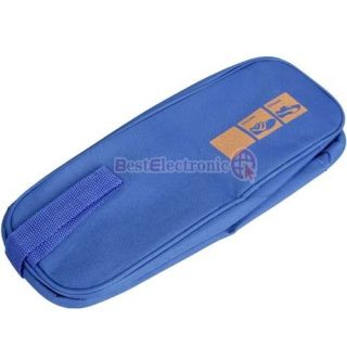 New design Waterproof Travel Shoe Storage Bag Shoe Tote Bag Blue