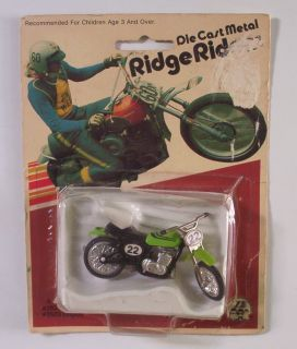Yamaha MX400 Dirt Bike Ridge Riders Zee Toys VHTF Vtg 70s Motorcycle