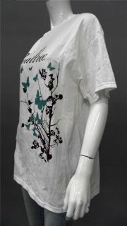 Designer Realtree Ladies Womens s Floral Short Sleeve Graphic T Shirt