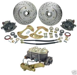 55 56 57 Chevy Bel Air Manual Disc Brake Conversion Kit