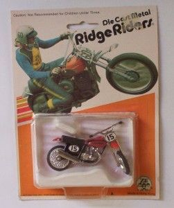 Honda XR 75 Dirt Bike Ridge Riders Zee Toys VHTF Vtg 70s Motorcycle