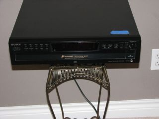 Sony CDP CE375 5 Disc CD Changer Compact Disc Player