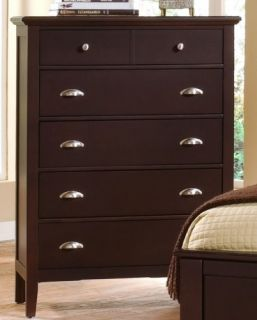 Vaughan Bassett Barnburner 8 Merlot Queen Bedroom Set