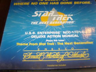 Star Trek USS Enterprise NCC 1701 D Deluxe Action Musical