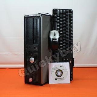 Fast Dell Optiplex 755 Refurbished Desktop Core 2 Duo 4GB / 160GB