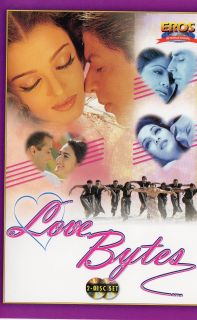 Hindi Indian Songs DVD Love Bytes 2 DVDs Must Have