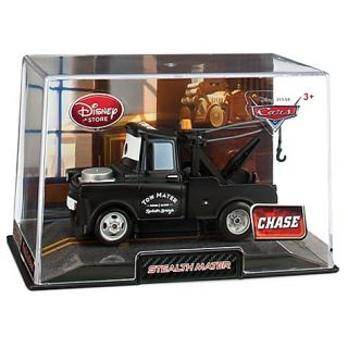 Pixar CARS 2 Stealth Mater Chase Die Cast in Collector