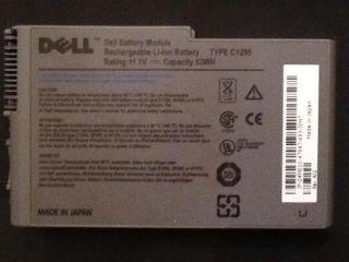 DELL OEM Genuine Latitude D600 D505 D610 BATTERY Type C1295 laptop