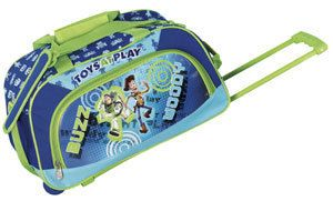 Disney by Heys USA Toys at Play 18 Wheeled Boys Duffel Bag Toy Story