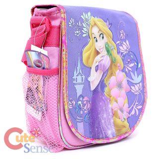Disney Princess Tangled Rapunzel School Large Backpack Lunch Bag Set