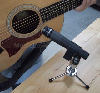 Desktop Tripod Mic Stand Guitar instrument vocal Microphone radio