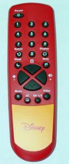 DISNEY MICKEY MOUSE TV REMOTE CONTROL DT1350 C DT1900 C DT1900 P NEW
