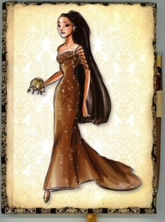 Disney Princess Designer Collection Pocahontas Journal Matching