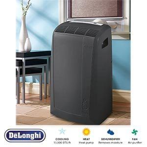 DELONGHI PINGUINO 13 000 BTU PORTABLE ROOM AIR CONDITIONER HEATER